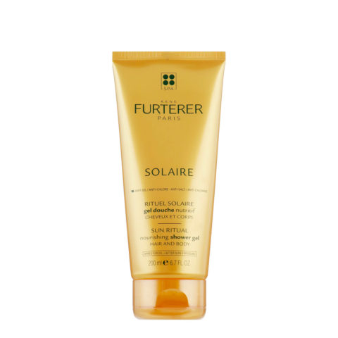 René Furterer Solaire Nourishing Shower Gel Hair and Body 200ml - Gel de ducha hidratante