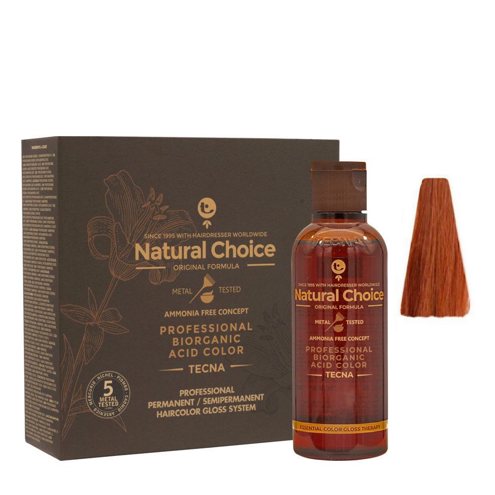 7.43 Rubio cobre dorado Tecna NCC Biorganic acid color 3x130ml