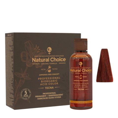 6.66 Rubio oscuro rojo intenso Tecna NCC Biorganic acid color 3x130ml