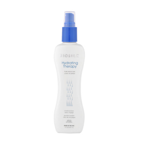 Biosilk Hydrating Therapy Pure Moisture Leave In spray 207ml - acondicionador spray  libre de anjuague