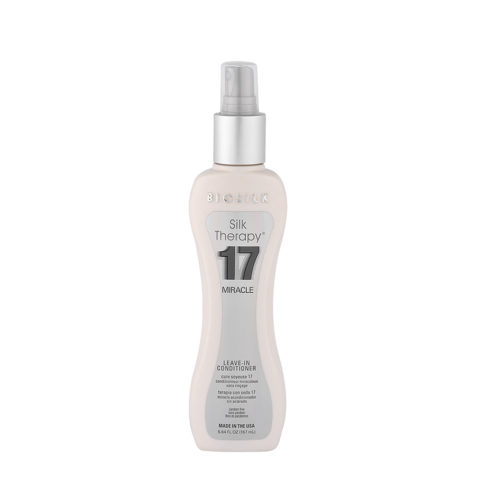 Biosilk Silk Therapy 17 Miracle Leave-In Conditioner 167ml - spray multiusos
