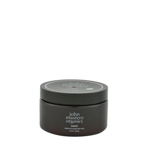 John Masters Organics Sweet Raspberry & Orange Body Scrub 136,2gr