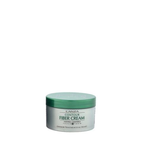 L' Anza Healing Style Fiber Cream 100ml - crema de peinado fijación media