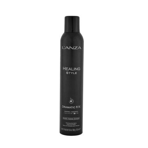 L' Anza Healing Style Dramatic F/X 350ml - Laca fijación fuerte