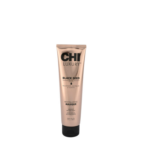 CHI Luxury Black seed oil Revitalizing masque 147ml - mascara para cabello dañado