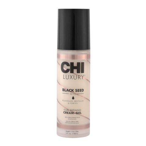 CHI Luxury Black seed oil Curl defining Cream gel  148ml - crema rizos