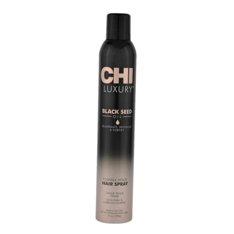 CHI Luxury Black seed oil Flexible hold Hair spray 340gr - Laca fijación flexible