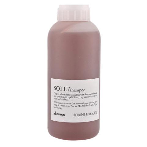 Davines Essential hair care Solu Shampoo 1000ml - Champú refrescante