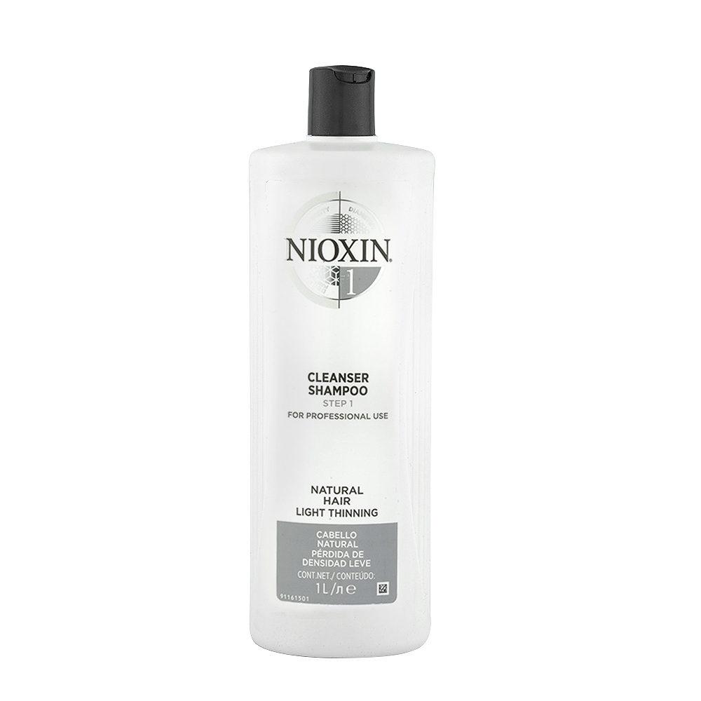 Nioxin System1 Cleanser shampoo 1000ml - Champù anticaìda