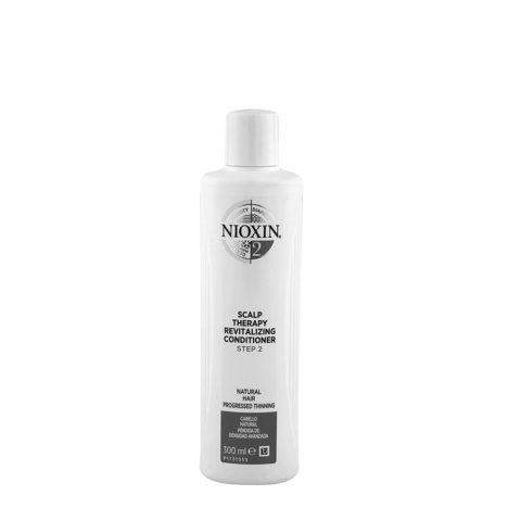 Nioxin System2 Scalp therapy Revitalizing Conditioner 300ml - cabello natural - pérdida de densidad avanzada