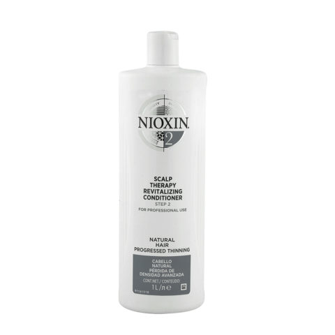 Nioxin System2 Scalp therapy Revitalizing conditioner 1000ml - Acondicionador anticaìda