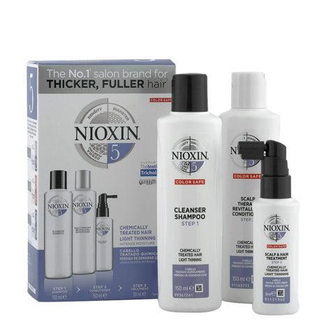 Nioxin System1 Full kit - cabello tratado químicamente pérdida de densidad lieve
