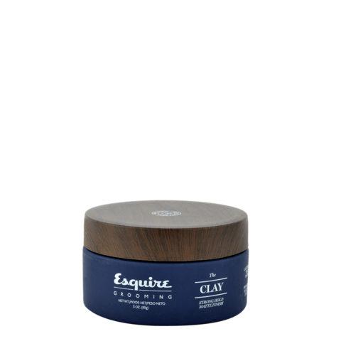 Esquire The Clay 85gr - pasta fijacion fuerte efecto mate
