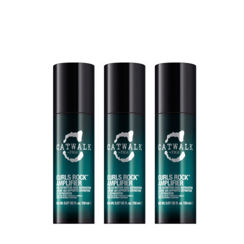 Tigi Catwalk Curlesque Curls Rock Amplifier 150ml 3 PCS -Amplificador Rizos