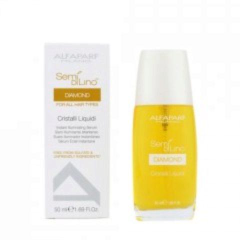 Alfaparf Semi di lino Diamond Cristalli liquidi Illuminating suero para cabello 50ml