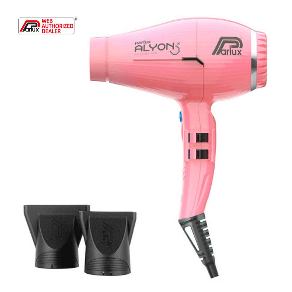 Parlux Alyon Air ionizer tech Eco friendly Rosa - Secador