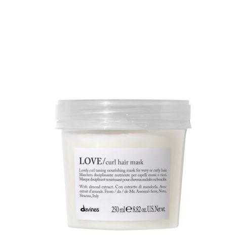 Davines Essential haircare Love curl hair mask 250ml  - máscara para el cabello rizado