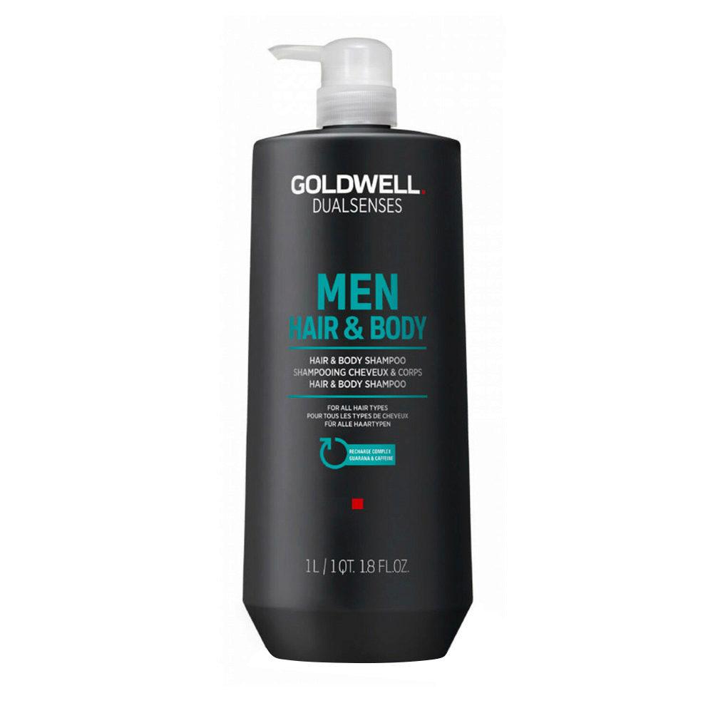 Goldwell Dualsenses Men Hair & body Shampoo 1000ml - champù cabello y cuerpo