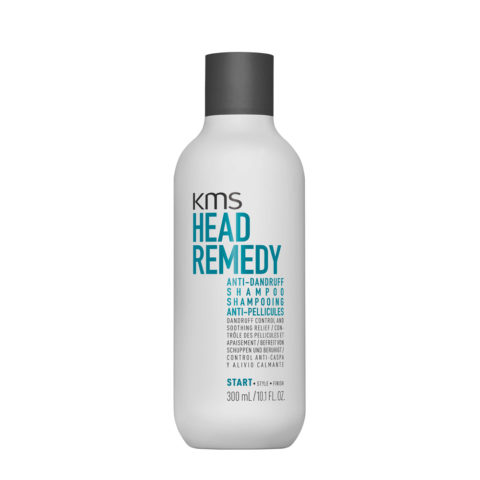 KMS Head Remedy Anti-Dandruff Shampoo 300ml - Champú Anticaspa Alivia Picazòn