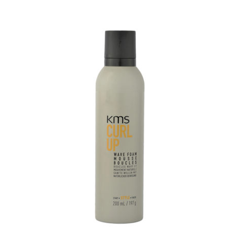 KMS Curl Up Wave Foam 200ml - Espuma Rizos