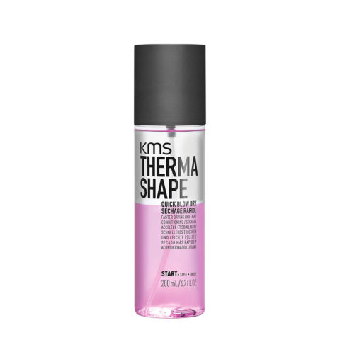 Kms Therma Shape Quick blow dry 200ml - Secado Rapido