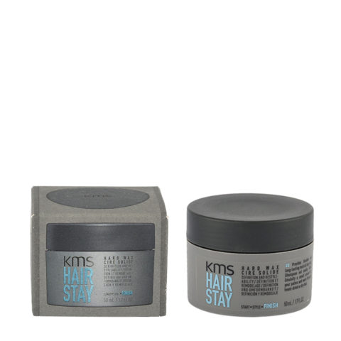 KMS Hair Stay Hard Wax 50ml - Cera Fuerte Efecto Seco