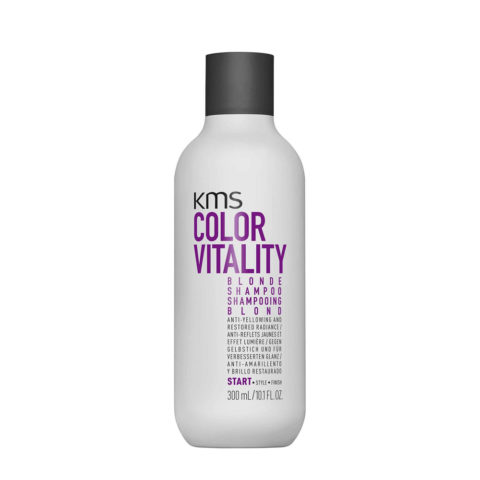 KMS Color Vitality Blonde Shampoo 300ml - Champù Antiamarillo