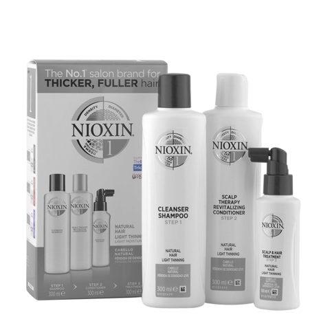 Nioxin System1 Kit Completo XXL Anticaìda