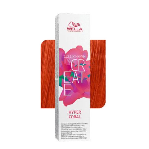 Wella Color fresh Create Hyper coral 60ml