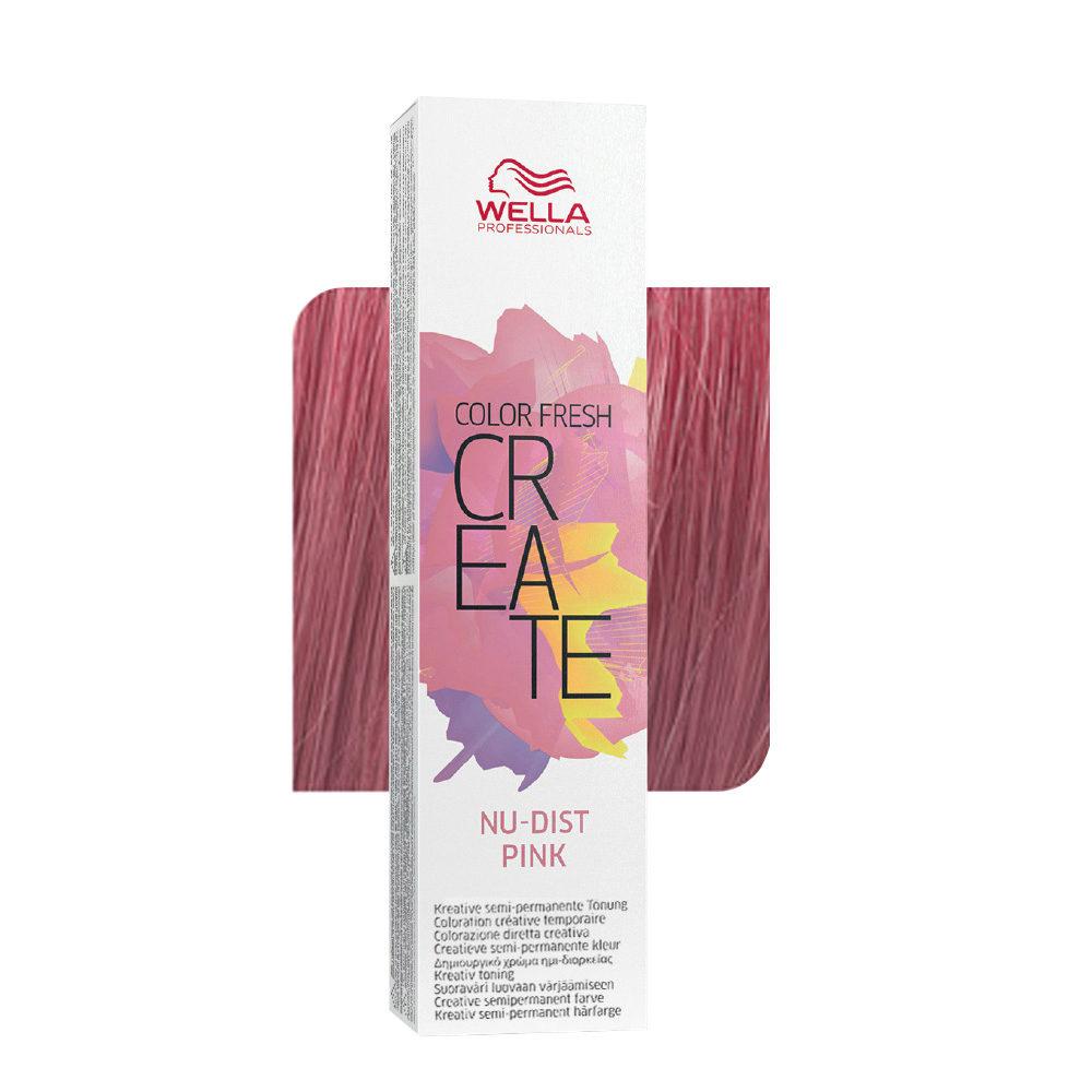 Wella Color fresh Create Nu-dist pink 60ml