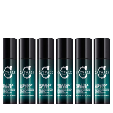 Tigi Catwalk Curlesque Curls Rock Amplifier 150ml - modelador rizos kit 6 pcs