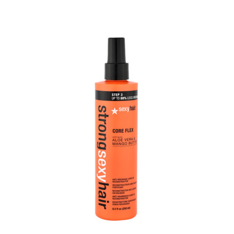 Strong Sexy Hair Core flex 250ml - Spray Reestructurante Sin Enjuague
