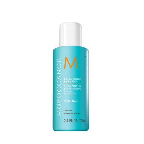 Moroccanoil Extra volume shampoo 70ml - champù extra volumen