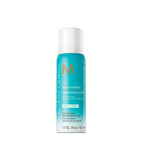 Moroccanoil Dry shampoo Light tones 65ml - Champú en seco para tonos claros
