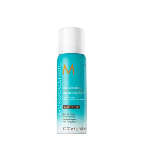Moroccanoil Dry shampoo Dark tones 65ml - Champú en seco para tonos oscuros