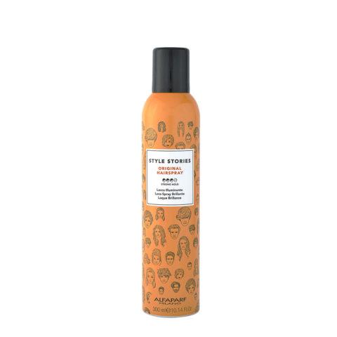 Alfaparf Style Stories Original Hairspray 300ml - Laca Spray Brillante
