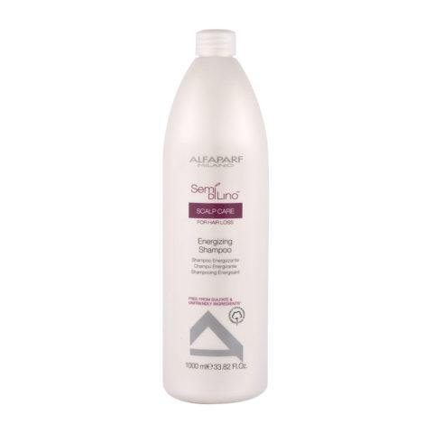 Alfaparf Semi Di Lino Scalp Care Energizing Shampoo 1000ml - Champú Energizante
