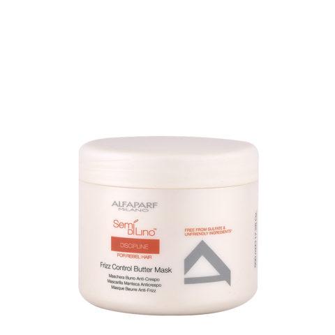 Alfaparf Semi Di Lino Discipline Frizz Control Butter Mask 500ml - Mascarilla Anti-Encrespamiento