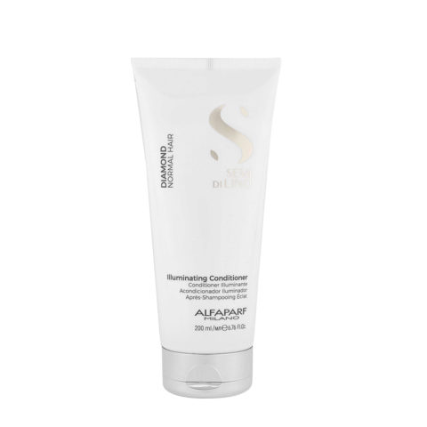 Alfaparf Semi Di Lino Diamond Illuminating Conditioner 200ml - Acondicionador Iluminador