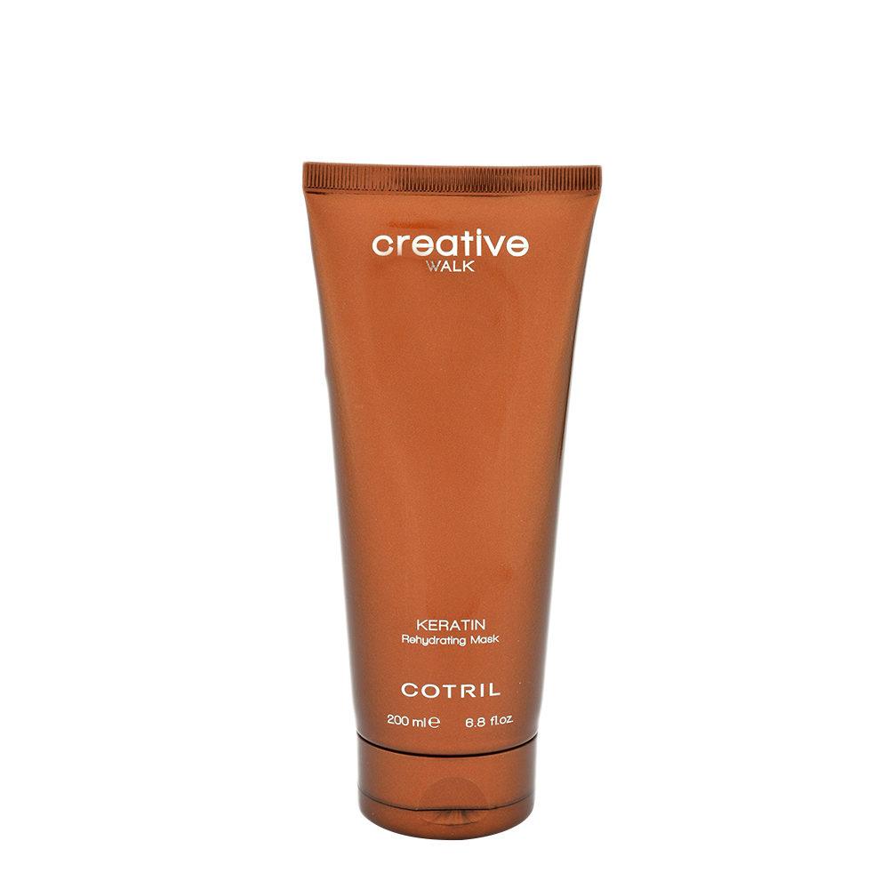 Cotril Creative Walk Keratin Rehydrating Mask 200ml - Mascarilla Rehidratante