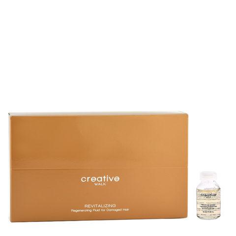 Cotril Creative Walk Revitalizing Regenerating Fluid for Damaged hair 12x20ml - reestructuración para cabello dañado