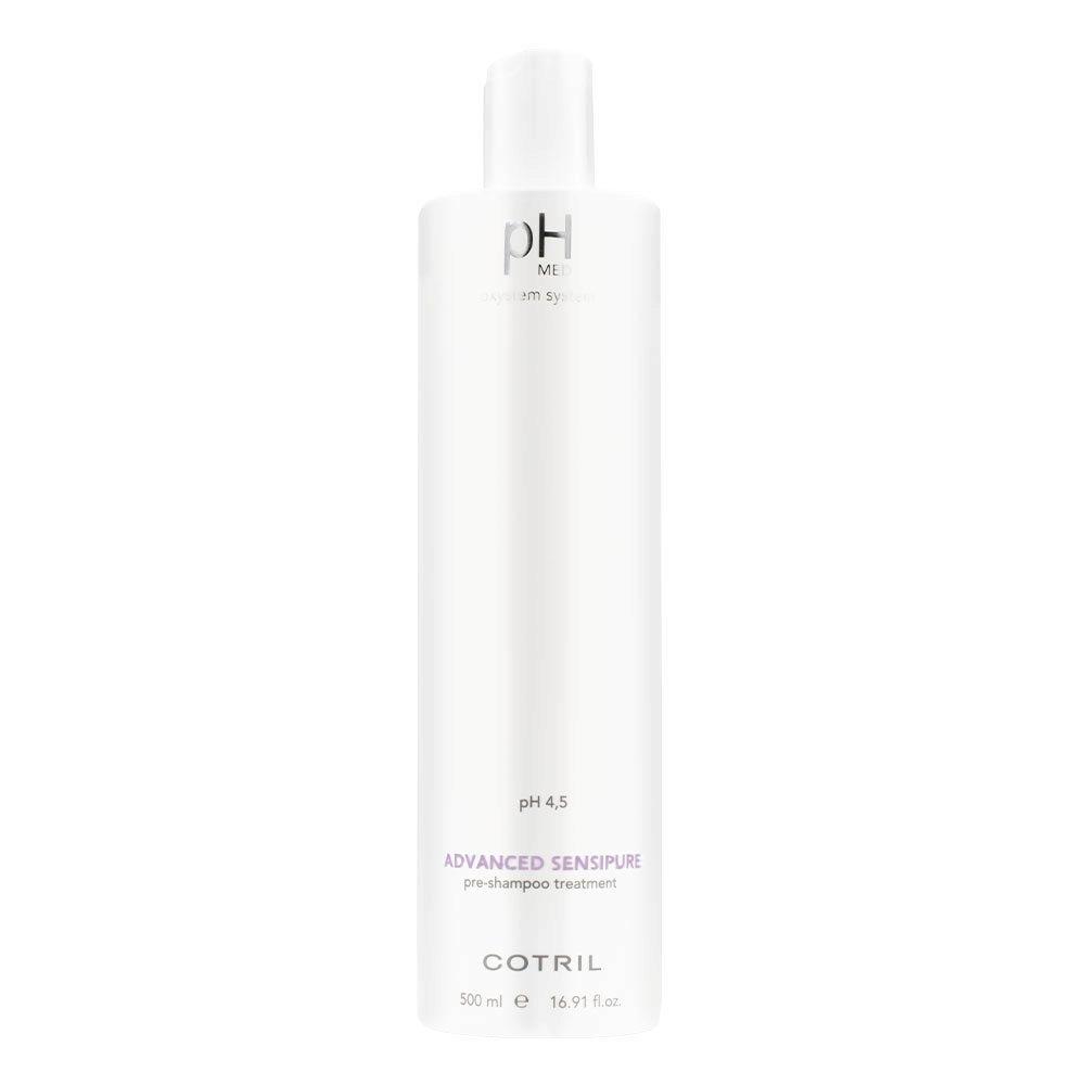Cotril pH Med Advanced Sensipure Pre Shampoo Treatment 500ml - Tratamiento purificante previo al champú