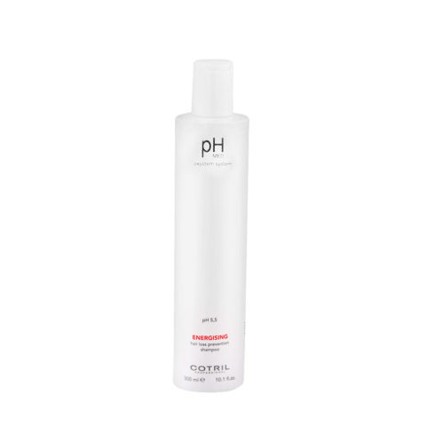 Cotril pH Med Energising Hair Loss Prevention Shampoo 300ml - pararrayos unisex