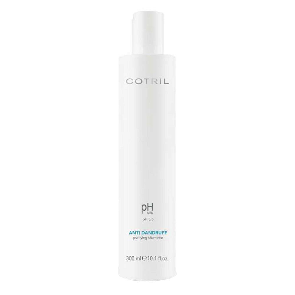 Cotril pH Med Anti-Dandruff Purifying Shampoo 300ml - Champú purificante anticaspa