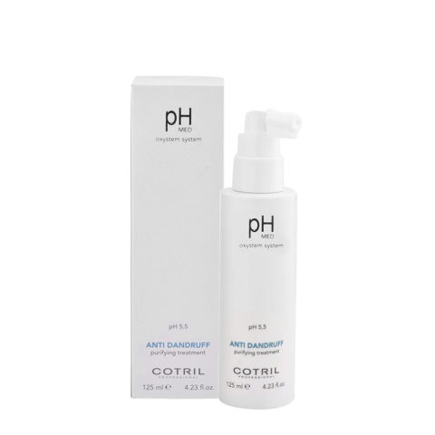 Cotril pH Med Anti-Dandruff Purifying Treatment 125ml - Loción purificante anticaspa