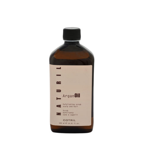 Cotril Naturil Argan Oil Exfoliating Scrub Scalp & hair 500ml - exfoliante, lindo y pelo