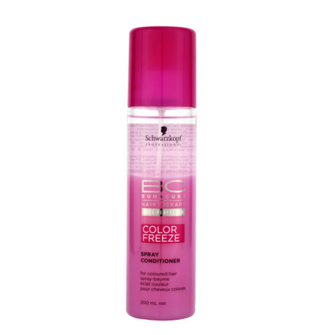 Schwarzkopf BC Bonacure Color Freeze Spray Conditioner 200ml - Spray acondicionador para cabello coloreado