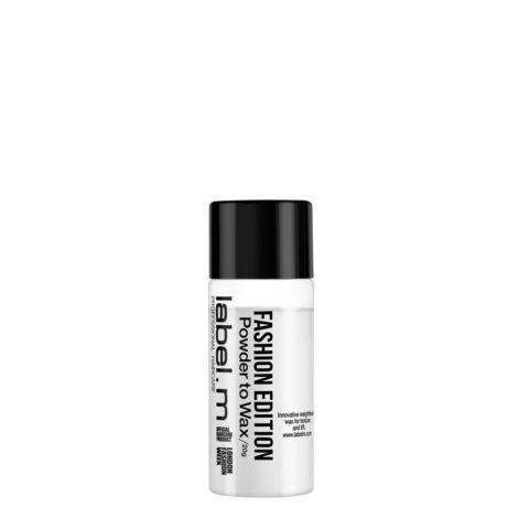 Label.M Complete Fashion Edition Powder to Wax 20gr - del polvo a la cera