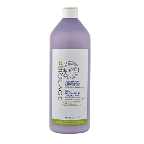Biolage RAW Color Care Conditioner 1000ml - acondicionador para cabello coloreado