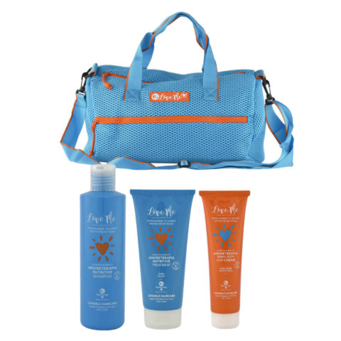 Tecna Sun Amoreterapia Shampoo 250ml Treatment 200ml Cream 150ml Sun bag gratis